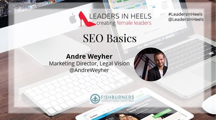 Andre Weyher SEO Basics
