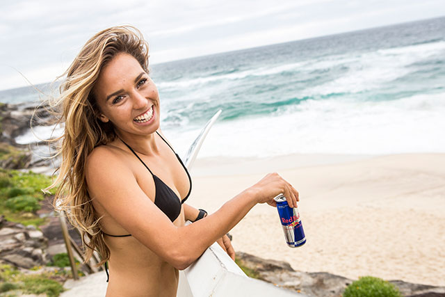 Australian professional surfer Sally Fitzgibbons