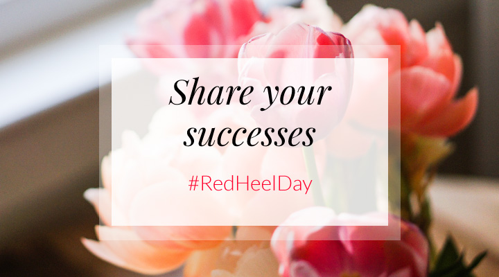 2 Red Heel Day