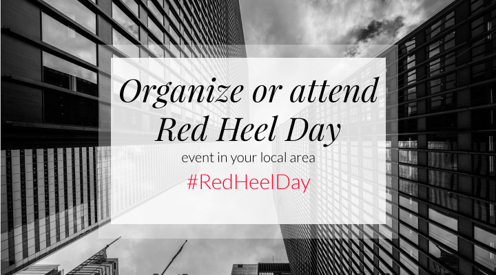 6 Red Heel Day