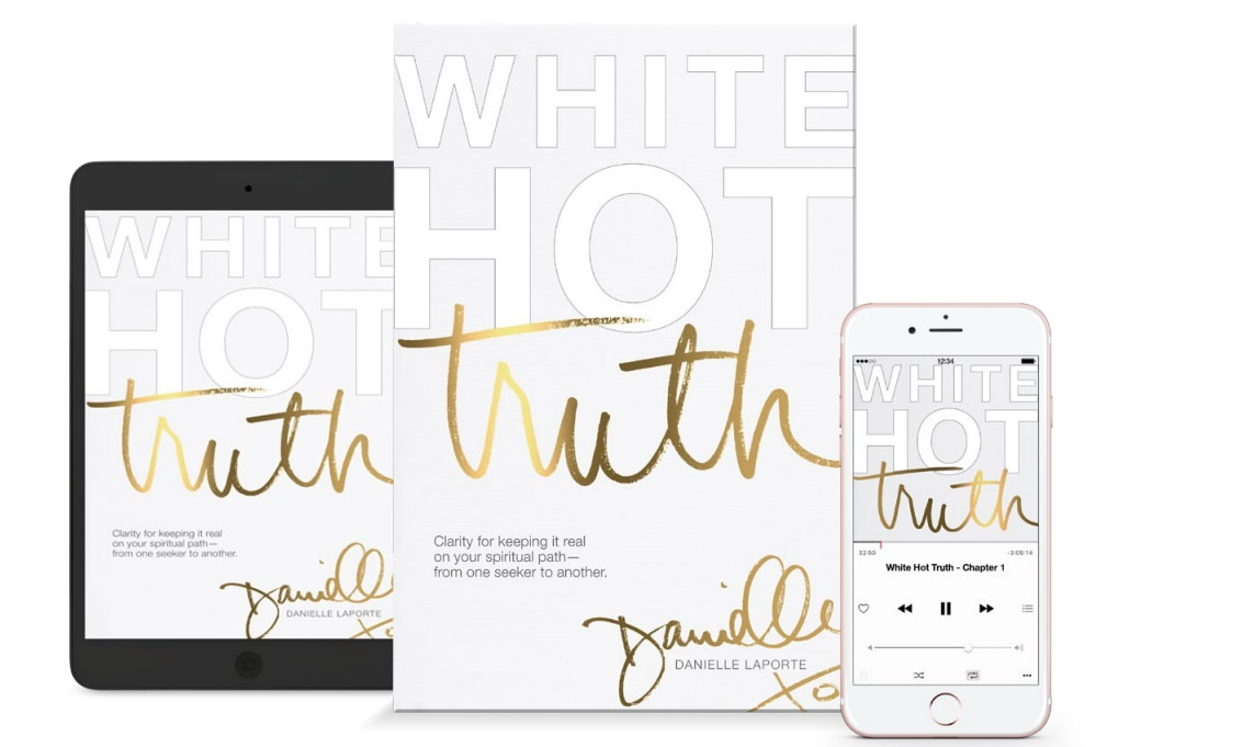 Review: White Hot Truth by Danielle La Porte - LEADERS IN HEELS