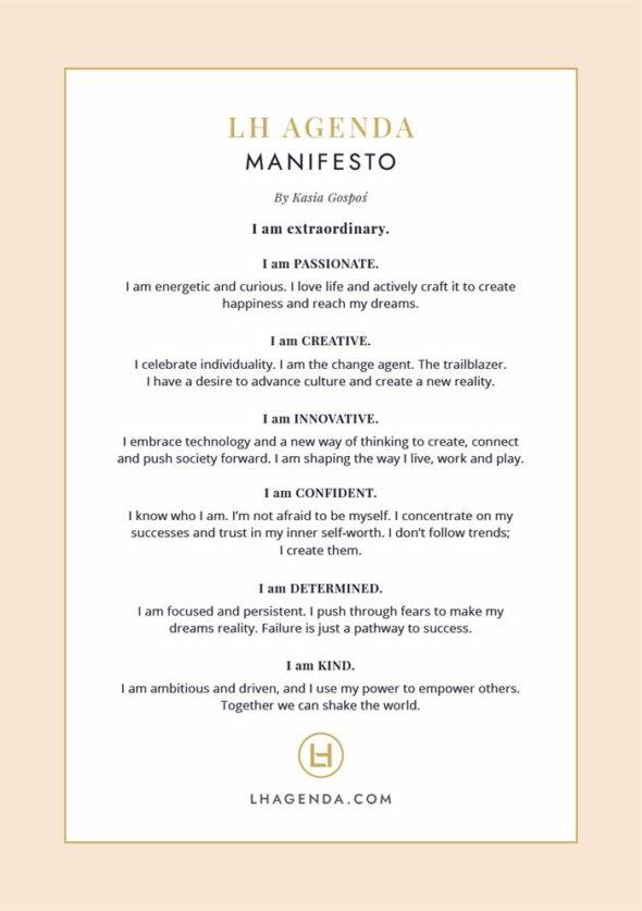 LH Agenda Manifesto