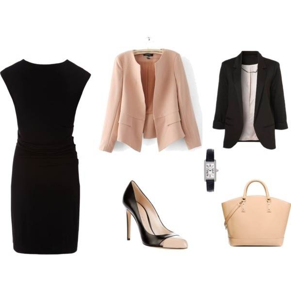 How to wear a Little Black Dress to work LEADERS IN HEELS