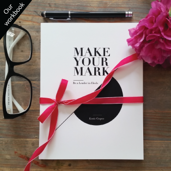 Make Your Mark Notebook for female leaders, women entrepreneurs and women in business