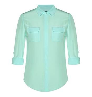 Marcs Silk Roll up Shirt
