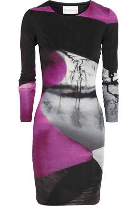 Winter Collection - Mary Katrantzou Printed Silk Jersey Dress - Net-a-Porter $995.00