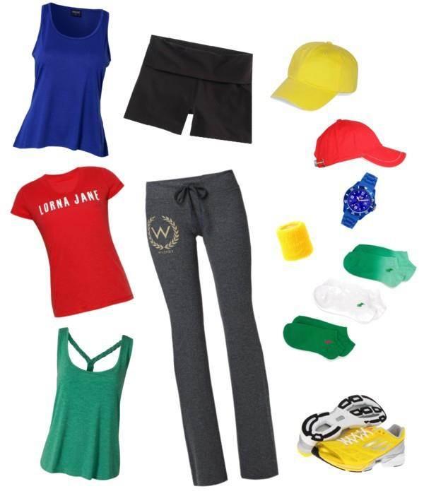 Mix n match Summer to Winter workout wear