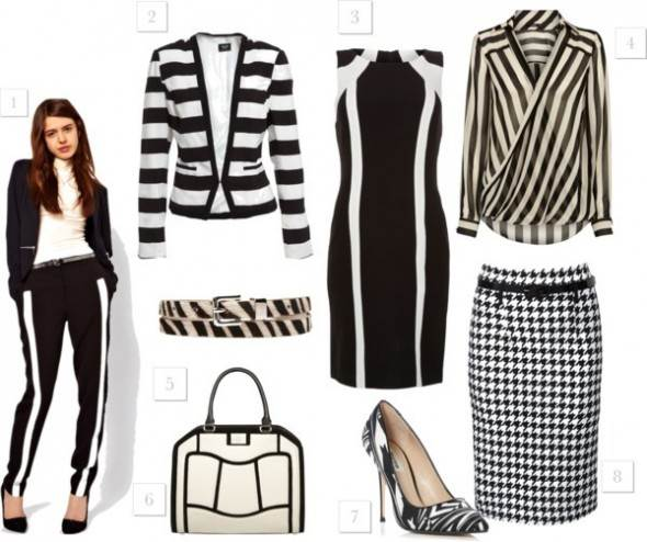 Monochrome - a key trend for 2013