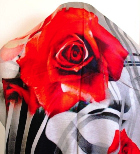 Sustainable Fashion Printed Scarf