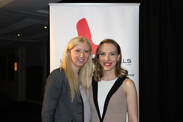 Rebecca Sounders (Delicatessen), Kasia Gospos (Leaders in Heels)