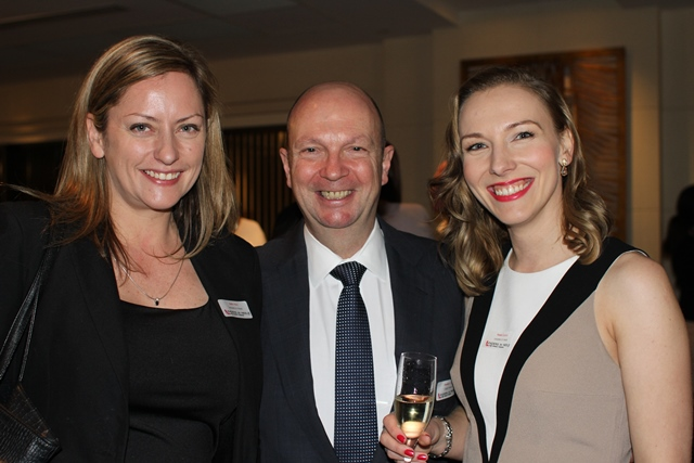 Sally Miles, Gordon Cairns (Chairman,Origin Energy), Kasia Gospos