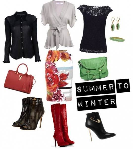 Summer skirt to winter wear