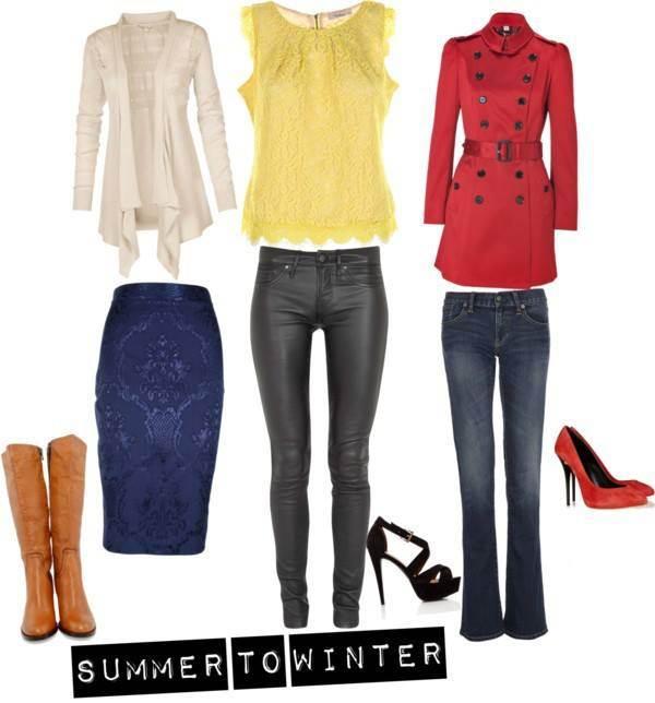 Summer top to winter wear