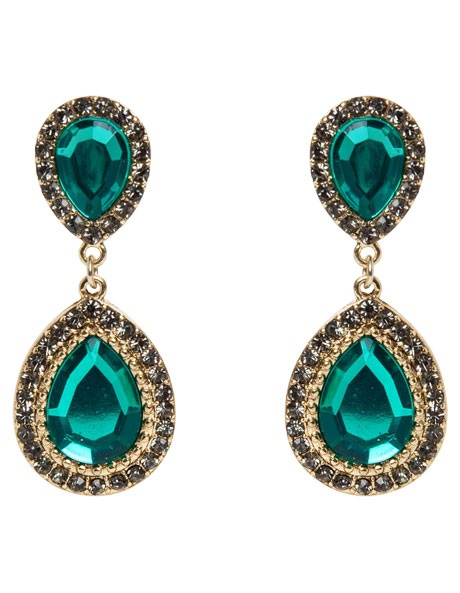 Design Studio Stone Teardrop earrings  $29.95 at MYER