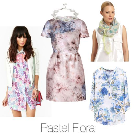 pastel flora
